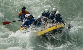 Rafting dans les Pyrénées
