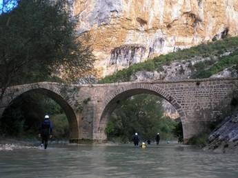 Río Vero viaducto