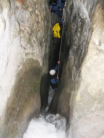 Descenso del barranco Gorgonchon
